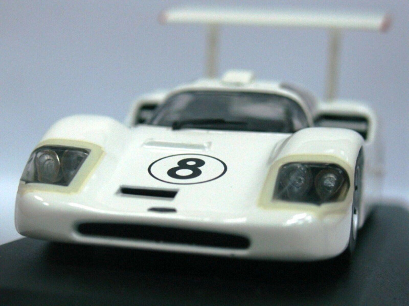 Wow extrêmement Rare Chaparral 2 F Chevrolet  8 24 H Le Mans 1967 1 43 Minichamps