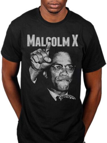 Officiel Malcolm X Pointer T-shirt Liberté égalité le bulletin de la balle