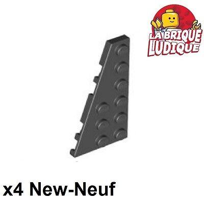 4x Aile Wedge plate 6x3 gauche left blanc//white 54384 NEUF Lego