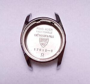 Vintage-Tissot-Reloj-Caja-de-Acero-Inoxidable-Ref-17092-1-NOS-Suizo-CM