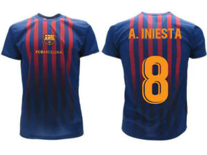 14e0c908ce3 Image is loading Shirt-Iniesta-2019-Barcelona-Official-Product-Barcelona- 2018-