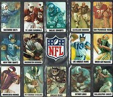 VINTAGE STANCRAFT/DAVE BOSS art (1966 NFL) PLAYING CARD COLLECTIBLE (EX+/NMT)