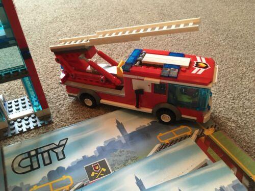 Lego City Instructions Only 7208 Fire Station Book 4 Ebay