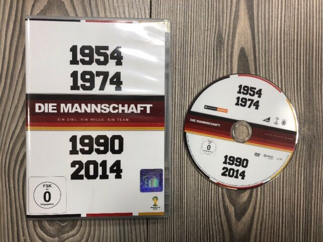 *** Die Mannschaft 1954 1974 1990 2014 *** DVD *** NEUwertig
