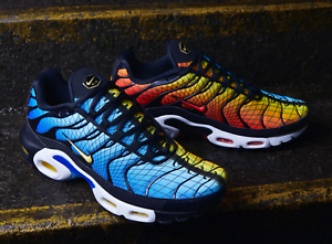 Nike Air Max Plus TN GREEDY  Sunset and Hyper bluee  Limited Sock Size AV7021-001