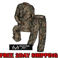 Hecs 2016 3 Piece Suit Pants Shirt Facemask Realtree Xtra - Sizes M L Xl 2l 3l