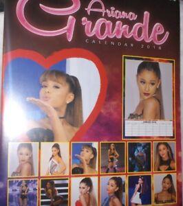 Ariana Grande A3 Neu,ovp Kalender 2018