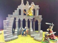 Tower Ruins Terrain Warhammer D&D Frostgrave 28mm 40K Fantasy Wargame 25mm LOTR
