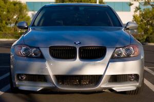 BMW-SERIE-3-E90-E91-M-SPORT-M-TECH-RAJOUT-DE-PARE-CHOC-AVANT-JUPE-AVANT