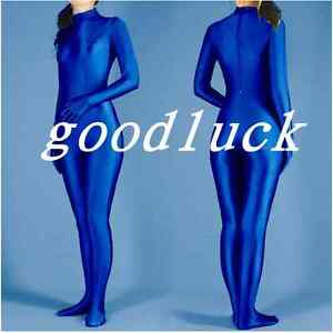 WOMEN-039-S-Lycra-Zentai-Suit-Catsuit-Dance-Bodysuit-Jumpsuit-Footed-amp-Handed-Unitards