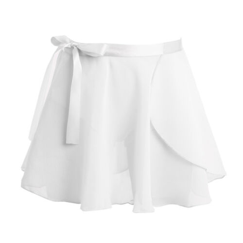 Girls Ballet Dance Gymnastics Leotards Tutu Wrap Scarf Skirt Dancewear Costume