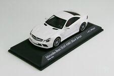 Minichamps 1/43 Mercedes-benz SL65 AMG Black Series R230 Matt White PMA Limited