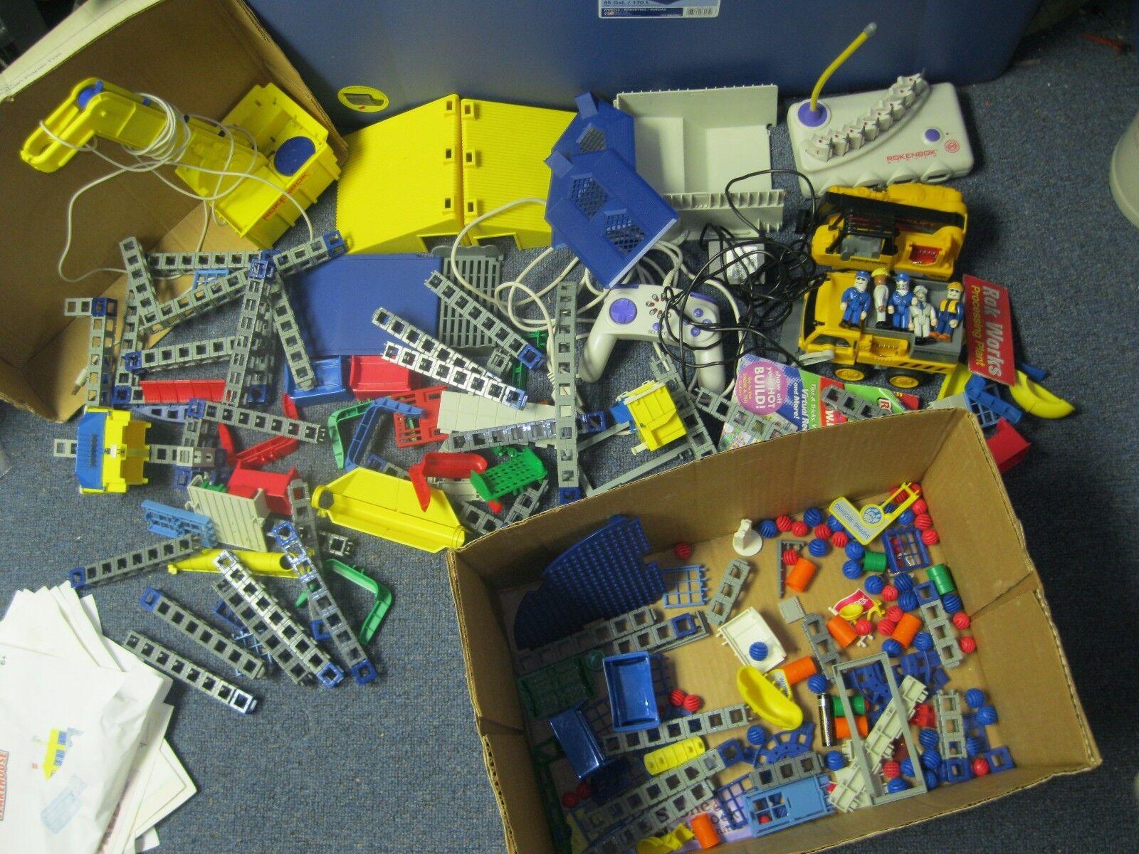 Rokenbok System Radio Control Construction Toy