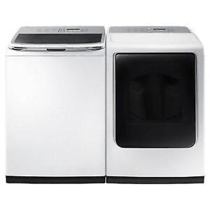 "Samsung WA50K8600AW Activewash 27"" 5.0 Cu. Ft. Top Load Washer - White"