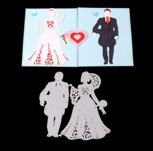 Hochzeit Metal Stencil Cutting Dies Scrapbooking Heirate Album Stanzschablone