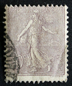 Timbre-de-FRANCE-FRENCH-Stamp-Yvert-et-Tellier-n-133-obl-Cyn21