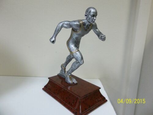 """w// engraving 6/"""" tall running Male Track trophy or award w// engraving"""