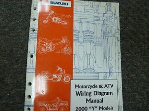 2000 Suzuki GSF VL1500 Intruder GSXR Motorcycle ATV Wiring ...