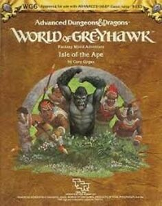 1x-World-of-Greyhawk-Isle-of-the-Ape-WG6-9153-Used-Acceptable-Products-D-amp-D-AD