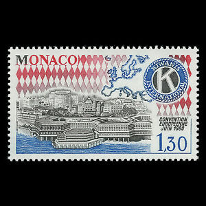 Details about Monaco 1980 - Kiwanis International European Convention - Sc  1233 MNH