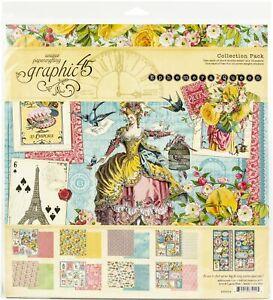 "Graphic 45 Collection Pack 12""X12""-Ephemera Queen"
