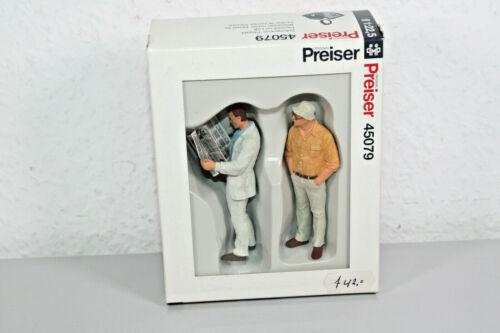 Preiser 45079 Spur G NP71 Passant II Zeitungsleser für LGB