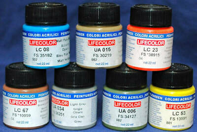 Colore LifeColor LC60 basic gloss dark blue