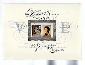 2012 Diamond Jubilee Queen Elizabeth II Commemorative Document Limited Edition