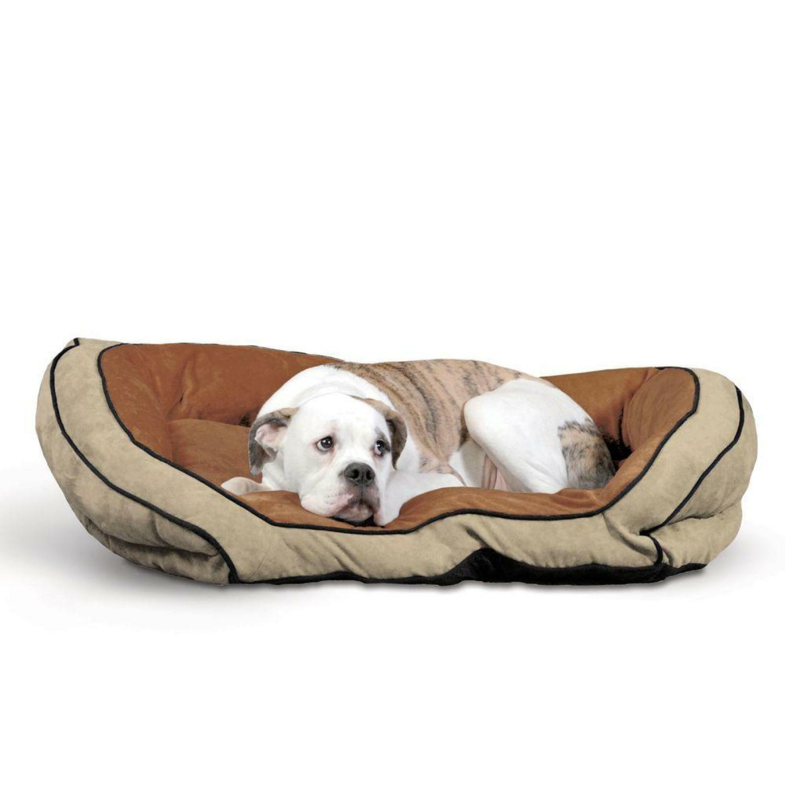 Dog Sofa Bed Large Pet Tufted Cushion Soft Sleeper Bed Couch Micro-suede Premium