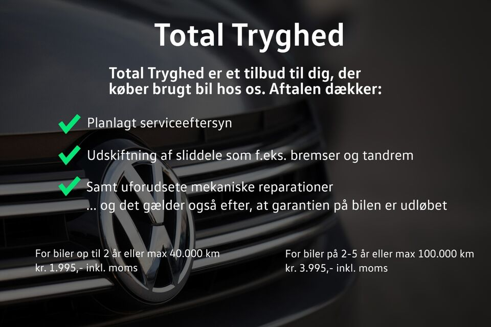 VW Touran 1,5 TSi 150 Highline DSG 7prs Benzin aut.