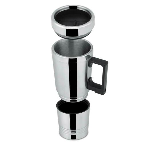 12V//24V 300ml Car Electric Coffee Tea Water Mug Vehicle Heating Drinking Cup YZ