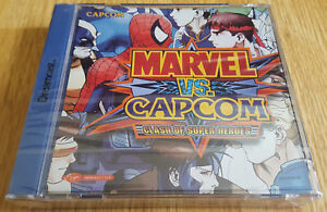 MARVEL-VS-CAPCOM-CLASH-OF-THE-SUPER-HEROES-for-SEGA-DREAMCAST-NEW-amp-SEALED
