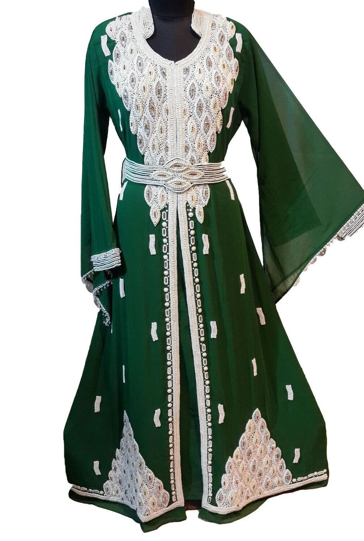 KAFTAN FARASHA JILBAB FANCY JILBAB ARABIAN ARABIAN ARABIAN DUBAI ABAYA WEDDING GOWN DRESS 101 34bb67