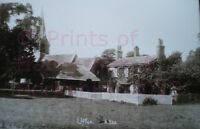 PRINT 10 X 7  VILLAGE OF UFTON NEAR READING BERKSHIRE c1910