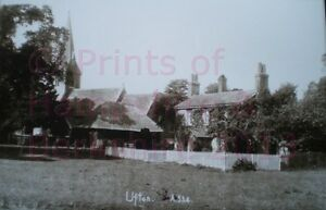 PRINT-10-X-7-VILLAGE-OF-UFTON-NEAR-READING-BERKSHIRE-c1910