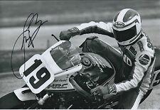 Fast Freddie SPENCER SIGNED Photo HONDA HRC AFTAL Autograph COA Daytona Beach