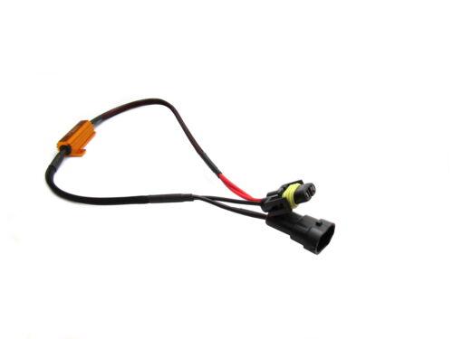 H11 Lastwiderstand für Nebelscheinwerfer 50W 8Ohm 12V LED Audi A4 A5 VW
