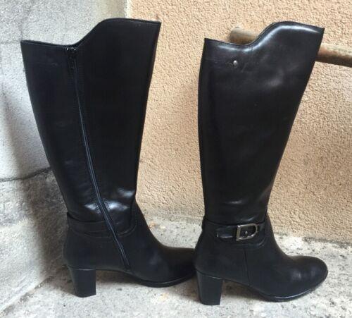 Cuir 41 Maria Bottes T Destockage Noir Marque 119 Jaen Neuf wX6T8qHx