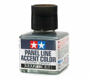 TAMIYA-Model-Kit-87199-Panel-Line-Accent-Color-Dark-Gray-40ml