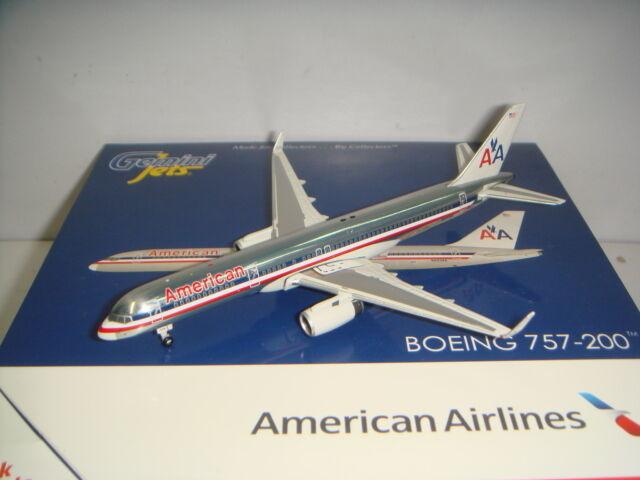 per il tuo stile di gioco ai prezzi più bassi Gemini Jets 400 400 400 American Airlines AA B757-200WL  1990s Coloreeeee - Polish  1 400  i nuovi marchi outlet online