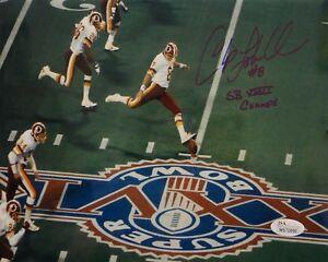 Chip-Lohmiller-SB-XXVI-Autographed-8x10-Super-Bowl-Kickoff-Photo-JSA-W-Auth