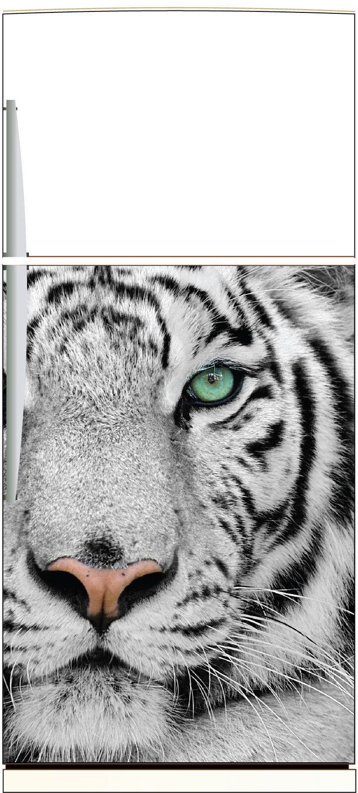 Aufkleber Kühlschrank Haushaltsgeräte Dekor Küche Tiger 60x90cm Ref 1357