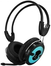 Circle Concerto Live 202 With Mic Multimedia Wired Headphone (BLUE)