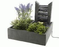 Cascading Slate Wall Indoor Tabletop Slate Water Feature Fountain Ideal Gift