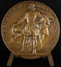 Médaille Explorateur fondateur de Québec Samuel de Champlain sc Delamarre Medal