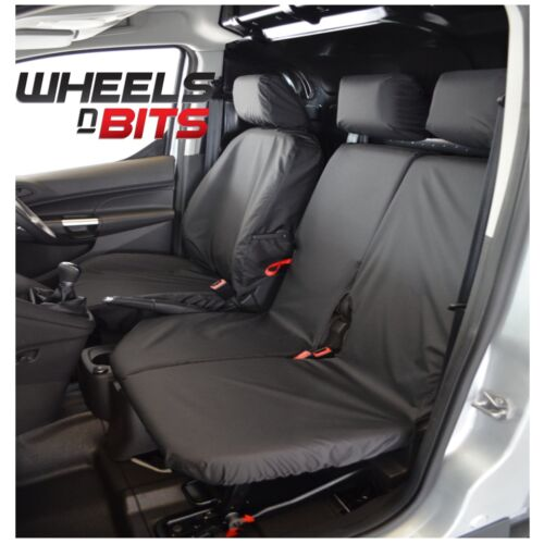 Ford Transit Connect 14/> 100/% Fit Tailored Heavy duty Leather Van Seat Cover