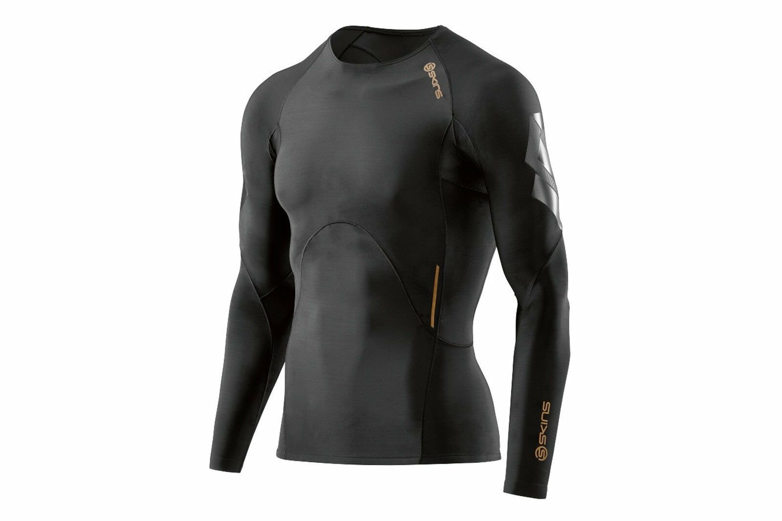 Skins SKINS A400 Mens Compression L S Top Sports Training Workout