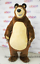 Halloween Bear Mascot Costume Cartoon Dressing Outfit Ursa Grizzly Cosplay