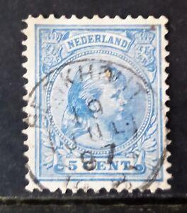 NVPH-35-GESTEMPELD-KLEINROND-BERKHOUT