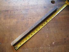 Ty Miles 740 W X 18 L Carbide Slant Tooth Machine Keyway Broach 1184 1312
